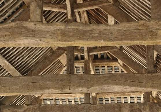 roof-timbers